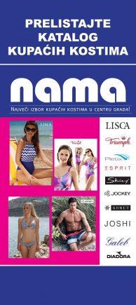 Prelistajte katalog kupaćih kostima